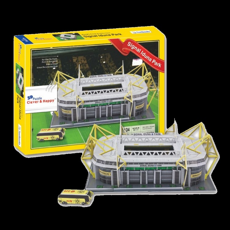 Borussia dortmund iduna park football stadium ground 3d replica borussia dortmund gs voltagebd Images